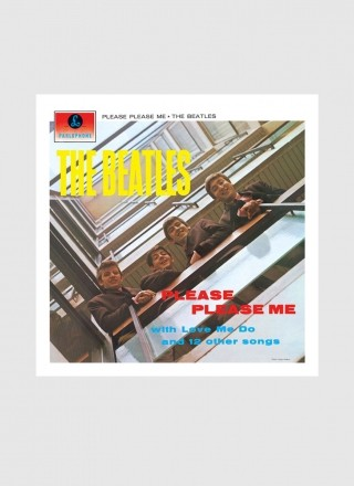 LP The Beatles Please Please Me