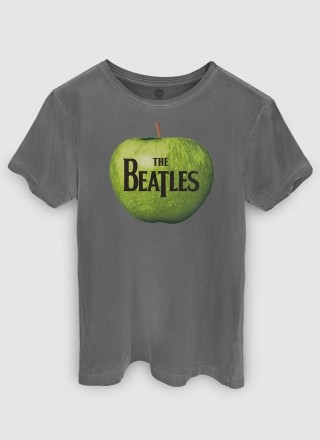 T-shirt Feminina The Beatles Apple Records
