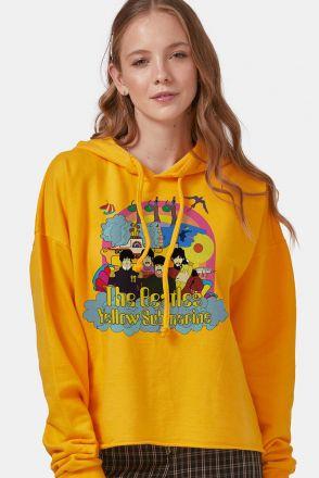 Blusão Feminino The Beatles Yellow Submarine