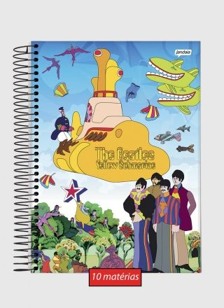 Caderno 10 Matérias The Beatles Beatlesmarine