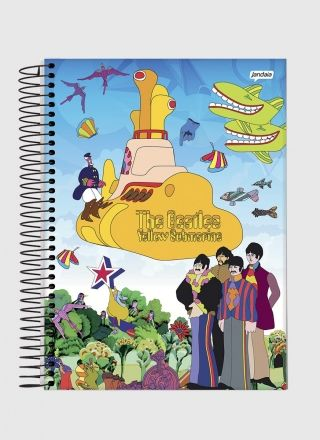 Caderno The Beatles Beatlesmarine 1 Matéria