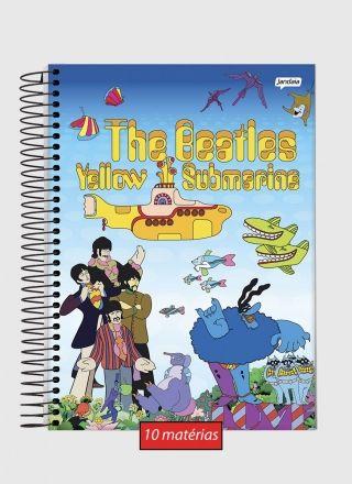 Caderno 10 Matérias The Beatles Yellow Submarine