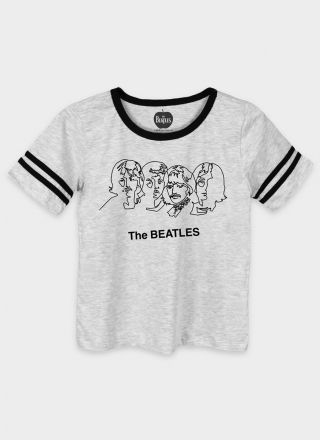 Camiseta Athletic Feminina The Beatles Trace