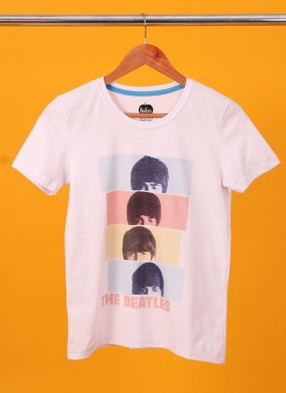 Camiseta Feminina The Beatles Headshot