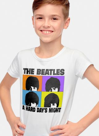 Camiseta Infantil The Beatles A Hard Day´s Night 2