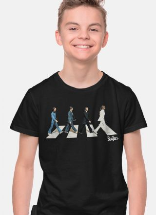 Camiseta Infantil The Beatles Abbey Road