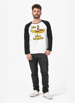 Camiseta Manga Longa The Beatles Yellow Submarine