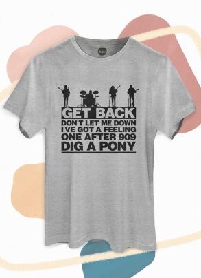 Camiseta Unissex The Beatles Get Back