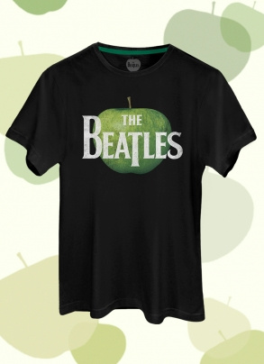 Camiseta Unissex The Beatles Logo Apple