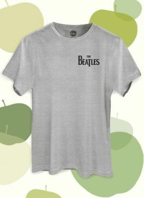 Camiseta Unissex The Beatles Logo Apple Fone