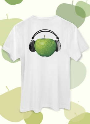 Camiseta Unissex The Beatles On Apple