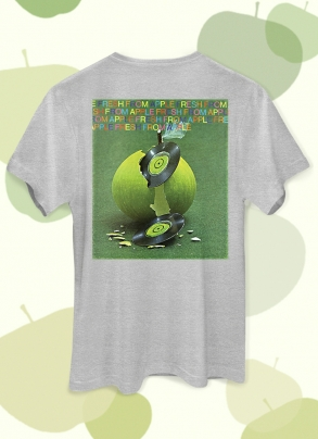 Camiseta Unissex The Beatles On Apple Disco