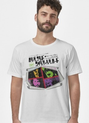 Camiseta Unissex The Beatles The Long and Winding Road Japan Music