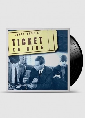 LP The Beatles - Larry Kanes  Ticket To Ride