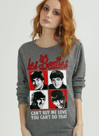 Moletinho Texturizado Les Beatles Can´t Buy My Love