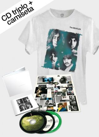 Pré-Venda Combo The Beatles White Album