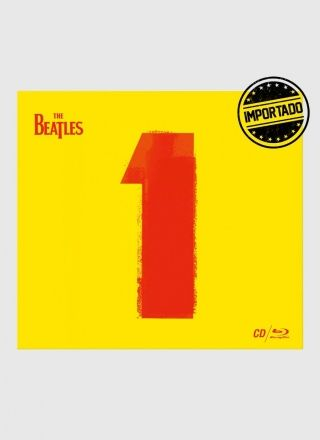 CD+Blu-ray The Beatles ´´1´´ (Ltd. Ed. Gatefold CD digipack)