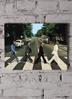 Quadro The Beatles Abbey Road Capa