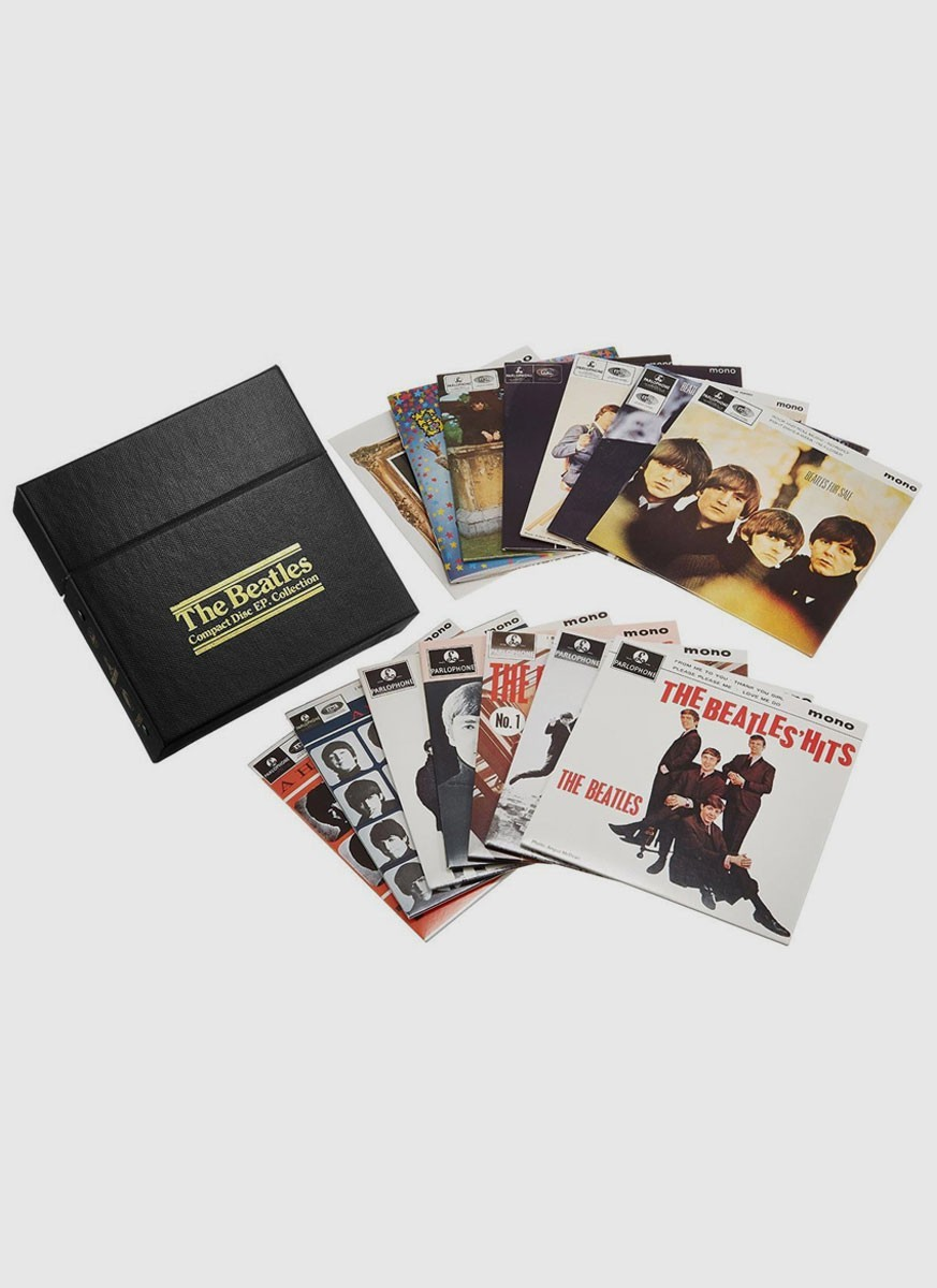 CD Box The Beatles - CD EP Collection
