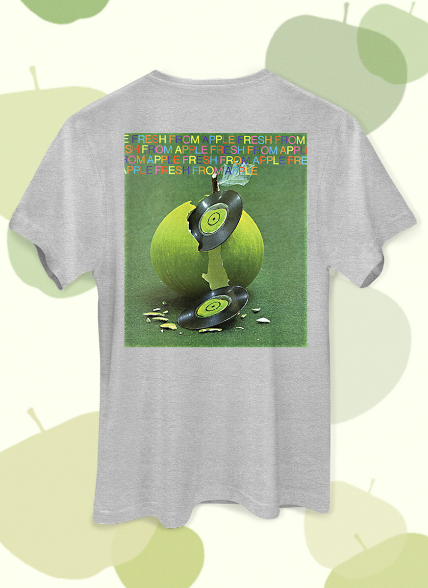 Camiseta Unissex The Beatles On Apple Disco