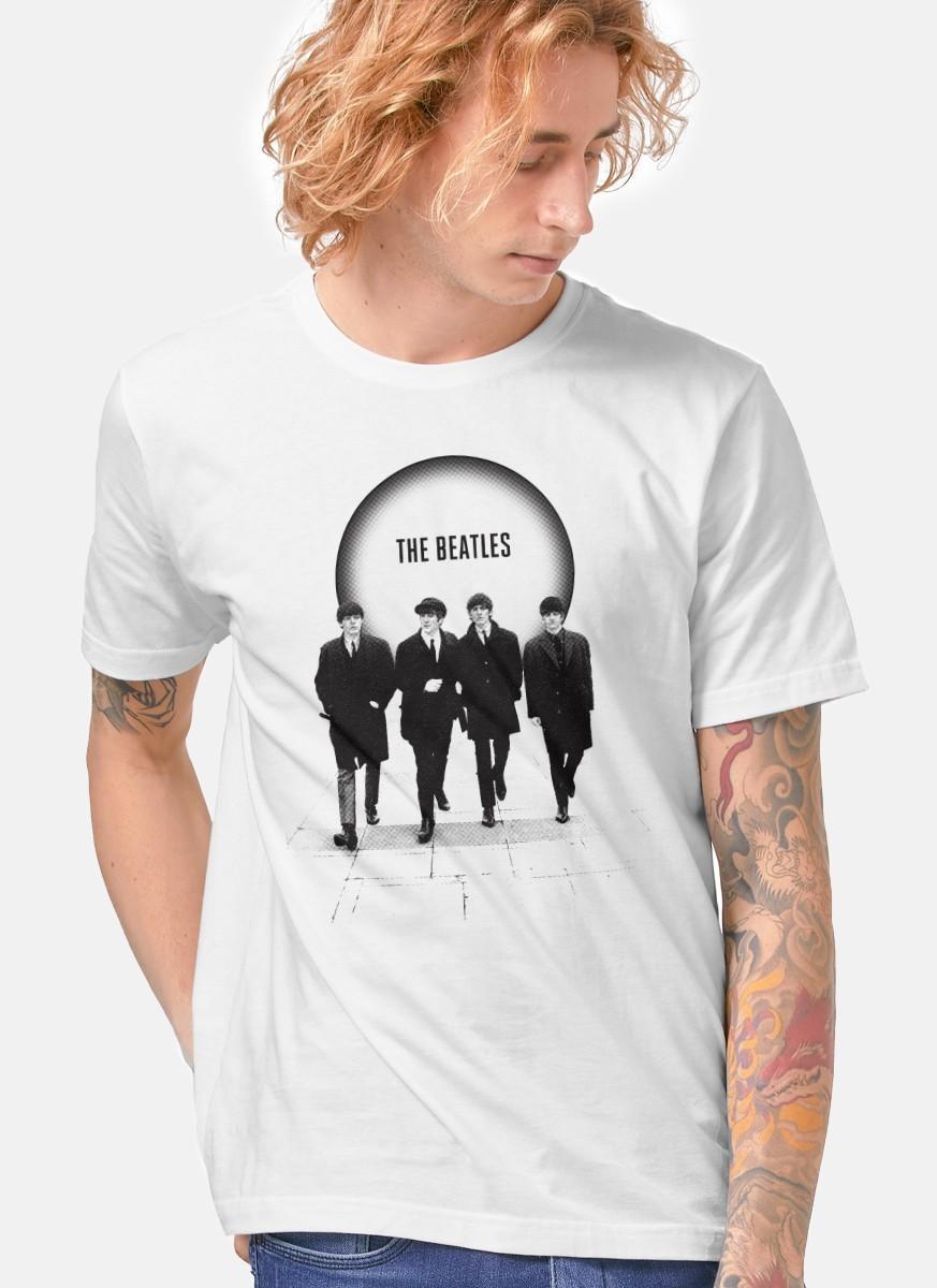Camiseta Unissex The Beatles The Beatles Are Coming 2