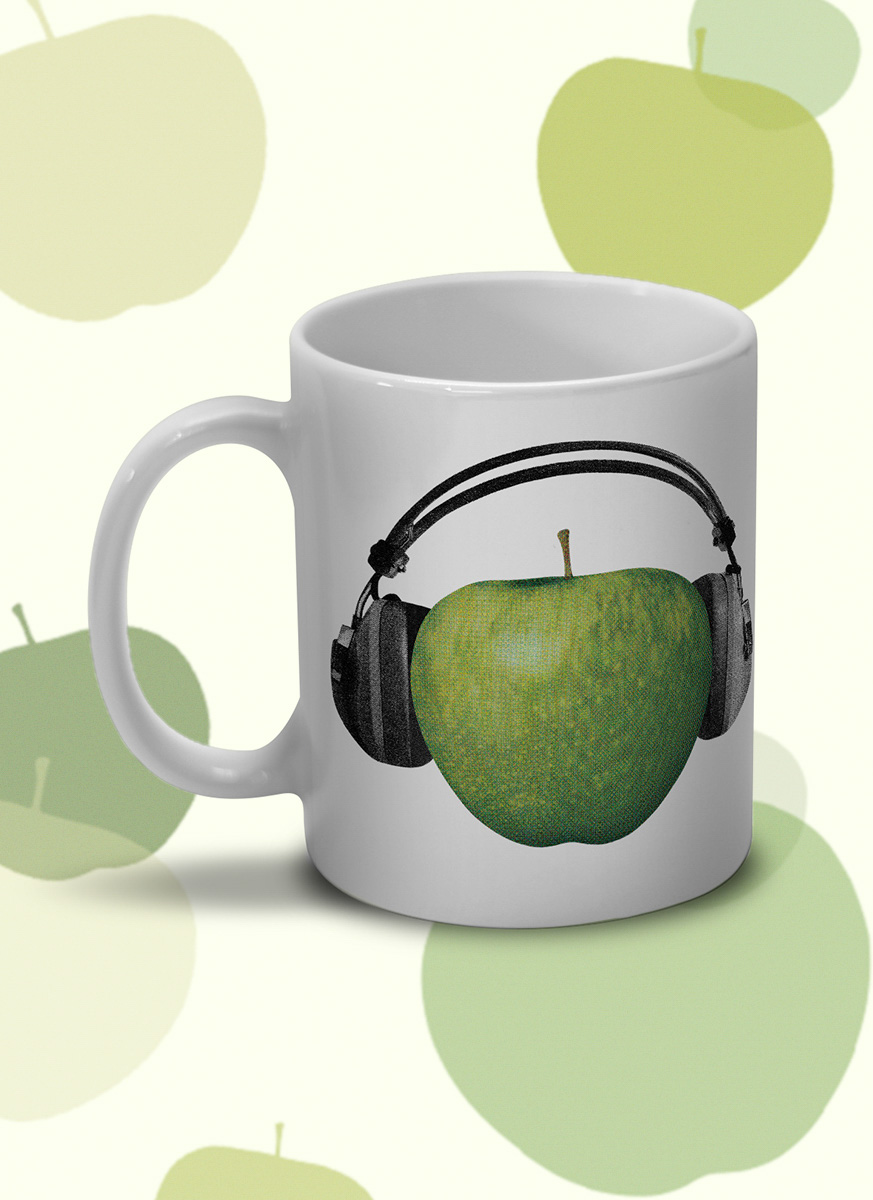 Caneca The Beatles - On Apple