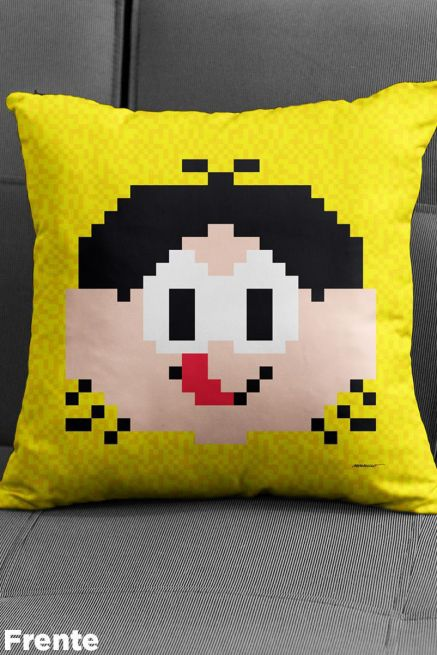 Almofada Turma da Mônica Magali Pixel