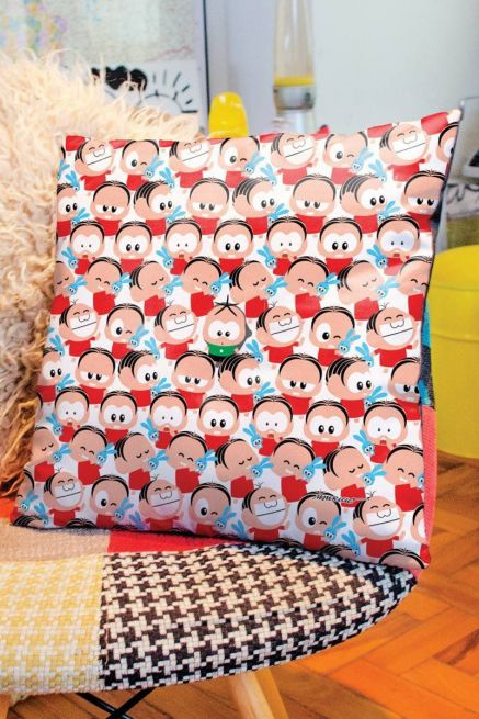 Almofada Turma da Mônica Toy Pattern