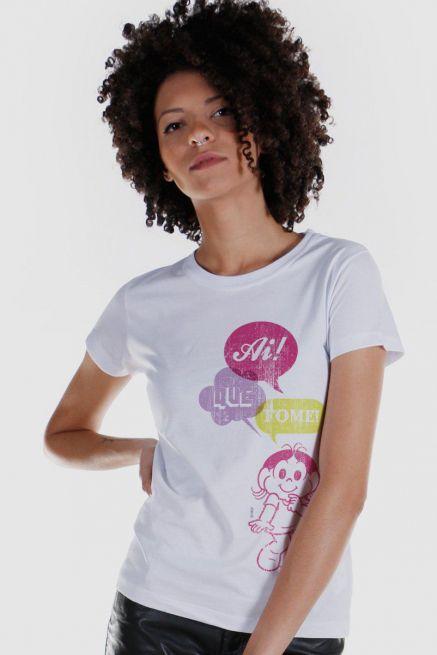 Camiseta Feminina Turma Da Mônica Technicolor Magali 2