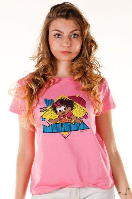 Camiseta Feminina Turma da Mônica Milena