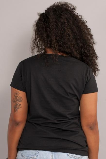 Camiseta Feminina Turma da Mônica Milena Pop Art