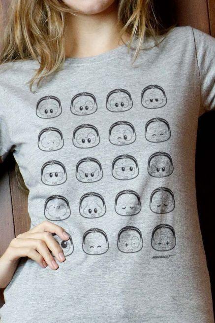 Camiseta Feminina Turma da Mônica Toy Look Mônica