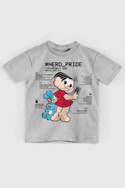 Camiseta Infantil Nerd Pride