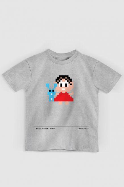 Camiseta Infantil Turma da Mônica 50 Anos Modelo 6 Anos 80