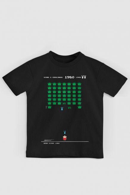 Camiseta Infantil Turma da Mônica 50 Anos Modelo 7 Anos 80 Preta