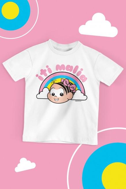 Camiseta Infantil Turma da Mônica Iti Malia
