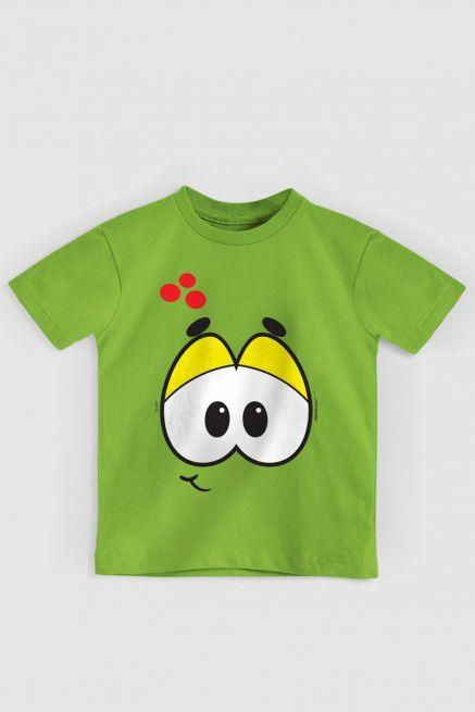 Camiseta Infantil Turma da Mônica Olhões Horácio