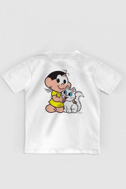 Camiseta Infantil Turma da Mônica Olhões Mingau