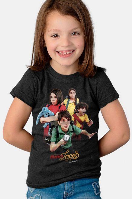 Camiseta Infantil Turma da Mônica Laços
