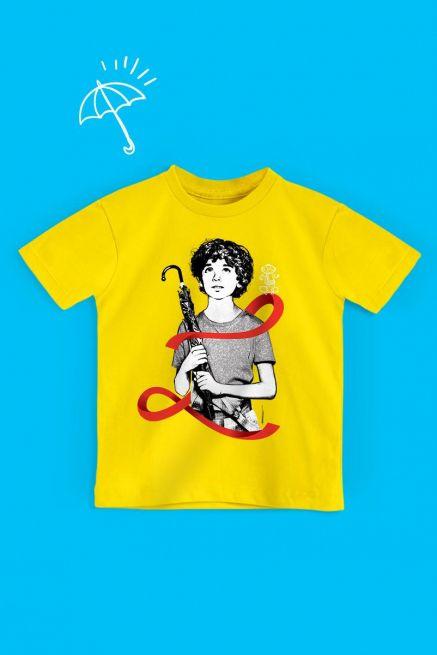 Camiseta Infantil Turma da Mônica Laços Cascão Laço