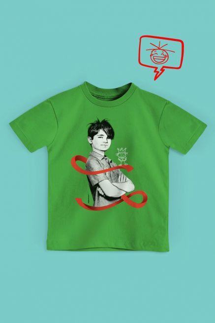 Camiseta Infantil Turma da Mônica Laços Cebolinha Laço