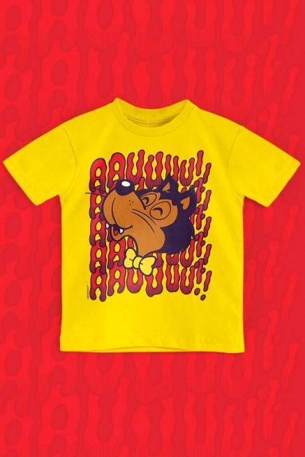 Camiseta Infantil Turma da Mônica Lobi