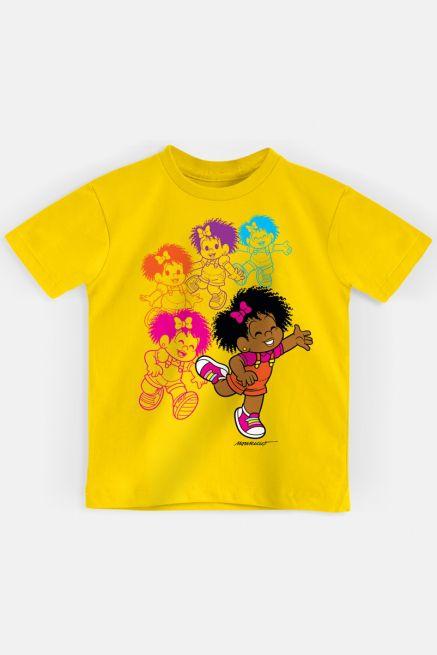 Camiseta Infantil Turma da Mônica Milena Pose