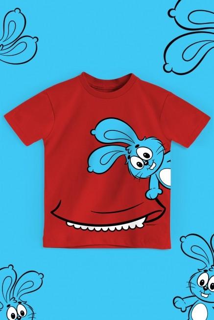 Camiseta Infantil Turma da Mônica Roupinha Mônica
