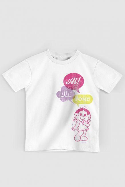 Camiseta Infantil Turma Da Mônica Technicolor Magali 2