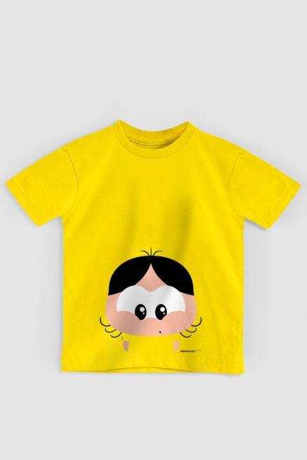 Camiseta Infantil Turma da Mônica Toy Big Magali
