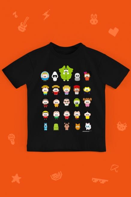 Camiseta Infantil Turma da Mônica Toy Todos