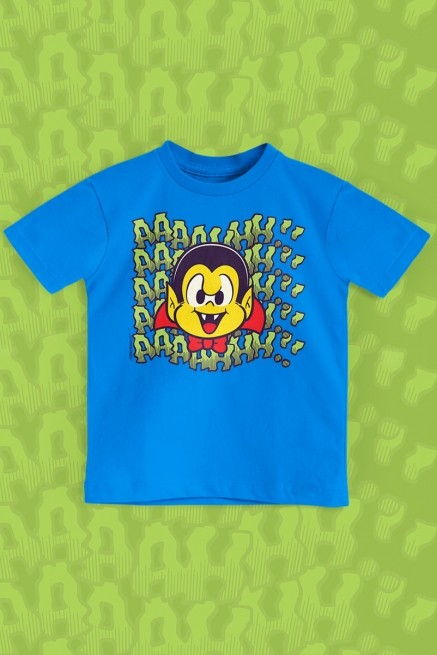 Camiseta Infantil Turma da Mônica Zé Vampiro