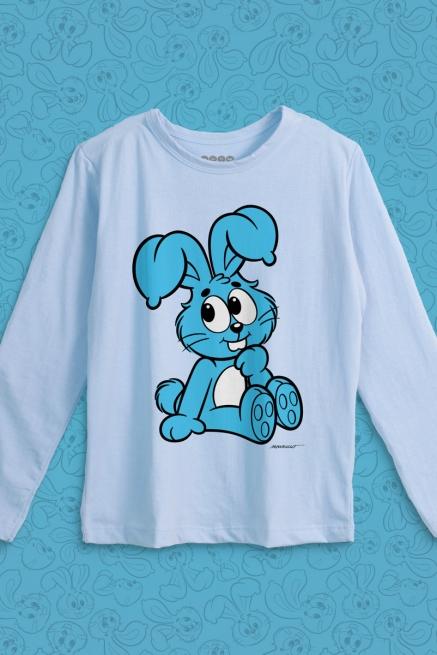 Camiseta Manga Longa Infantil Turma da Mônica Sansão