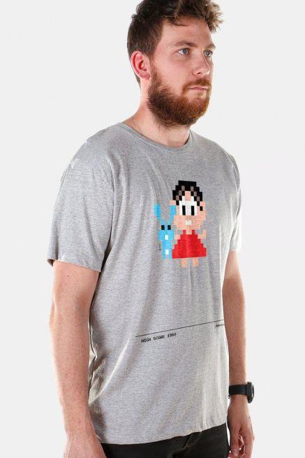 Camiseta Masculina Turma da Mônica 50 Anos Modelo 6 Anos 80